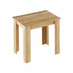 TEMPO KONDELA Jedálenský stôl, dub sonoma, 86x60 cm, TARINIO