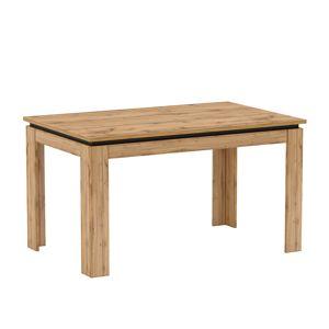 TEMPO KONDELA Jedálenský rozkladací stôl, dub wotan, TORONTA S