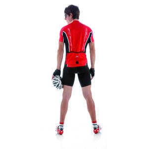 Cyklistický dres pánsky GIESSEGI Shade červený M