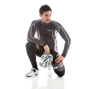 Cyklistický dres GIESSEGI ROCK šedý - dlhý rukáv M