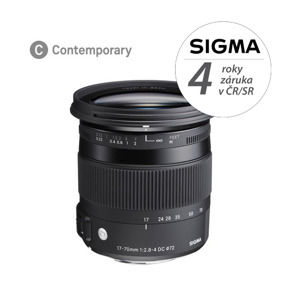 SIGMA 17-70mm F2.8-4 DC MACRO OS HSM Contemporary Nikon F mount
