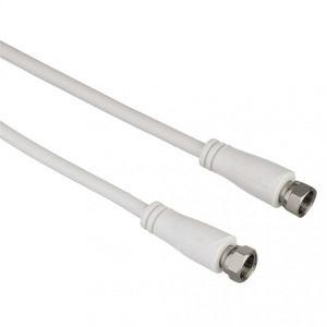 Hama SAT prepojovací kábel F-vidlica - F-vidlica, 90 dB, 1*, 3 m