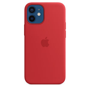 iPhone 12 mini Silicone Case with MagSafe (P.)RED
