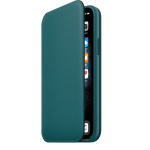 iPhone 11 Pro Leather Folio - Peacock