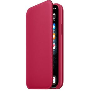 iPhone 11 Pro Max Leather Folio - Raspberry