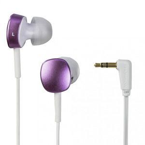 Thomson slúchadlá EAR3056, silikónové štuple, ružové/biele