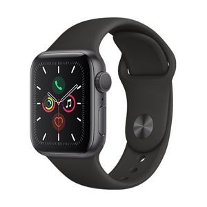 Watch S5, 40mm, Space Grey/ Black Sport Band