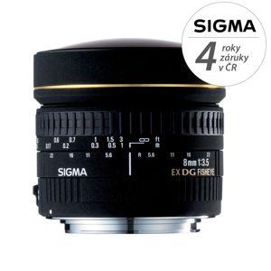 SIGMA 8/3.5 EX DG CIRCULAR FISHEYE Canon EF mount