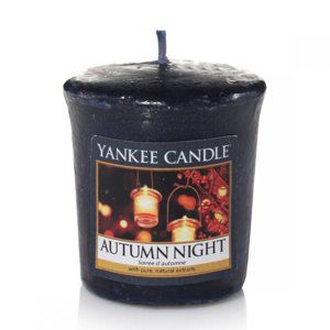 YANKEE CANDLE 1510134E SVIECKA AUTUMN NIGHT/SAMPLER