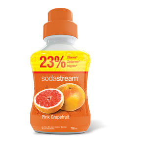 SODASTREAM SIRUP PINK GRAPEFRUIT 750 ML