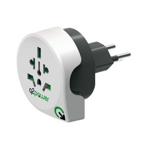 Q2 POWER CESTOVNY ADAPTER WORLD TO SWITZERLAND, 1.100200