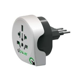 Q2 POWER CESTOVNY ADAPTER WORLD TO ITALY, 1.100180