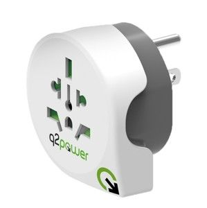Q2 POWER CESTOVNY ADAPTER WORLD TO USA, 1.100140