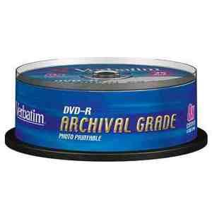 MEDIARANGE DVD-R 4,7GB 16x spindl 25ks Inkjet Printable