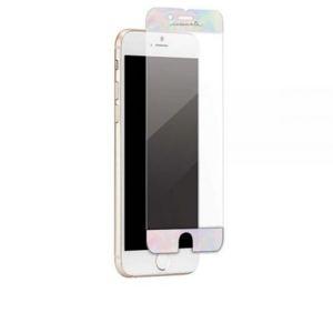 Case-Mate - Tvrdené sklo Ozdobné pre iPhone 8/7/6S/6 Plus, iridescentná