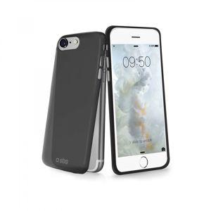 SBS - Puzdro Extra Slim pre iPhone 8/7, čierna