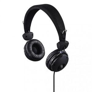 Hama on-ear slúchadlá s mikrofónom Fun4Phone, čierne