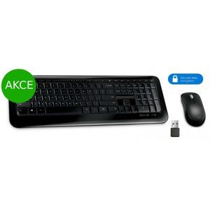 AKCE: Microsoft Wireless Desktop 850 with AES, CZ&SK