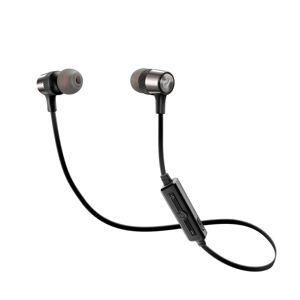 Bezdrôtové In-ear stereo slúchadlá CellularLine JUNGLE, AQL® certifikácia, čierna