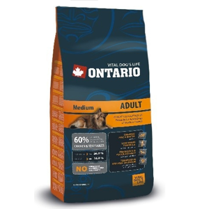 ONTARIO ADULT MEDIUM 2,5 KG