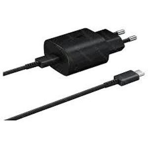 Samsung cestovná nabíjačka EP-TA800XB (25W), micro USB-C, Čierna