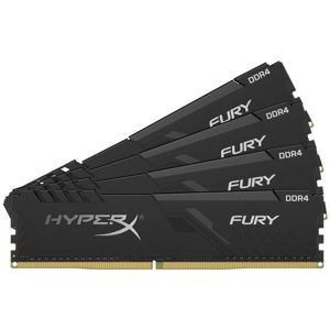 KINGSTON HyperX Fury Black 4x8GB DDR4 3200MHz