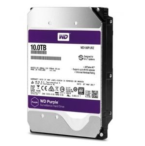 HDD 10TB WD101PURZ Purple 256MB SATAIII 7200rpm