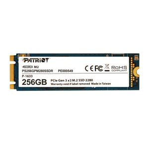 SSD 256GB PATRIOT Scorch M.2 2280 PCIe NVMe