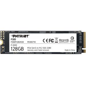 SSD 128GB PATRIOT P300 M.2 2280 PCIe NVMe