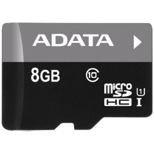 ADATA 8GB MicroSDHC Premier,class 10,with Adapter