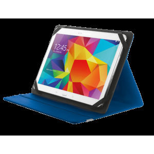 b0e0d444fed04 TRUST Primo Folio Case with Stand for 10'' tablets - blue | LCD ...