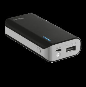 TRUST Primo PowerBank 4400 Portable Charger - black