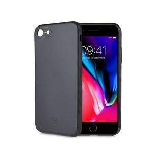 Zadní magnetický TPU kryt CELLY GHOSTSKIN pro Apple iPhone 7/8, kompatibilní s GHOST držáky, černý
