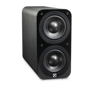 Q ACOUSTICS 3070S SUBWOOFER BLACK LEATHER