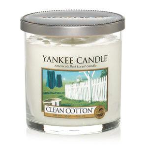 YANKEE CANDLE 1162782 SVIECKA CLEAN COTTON/PILLAR MALA