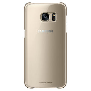 SAMSUNG CLEAR COVER PRE S7 EDGE (G935) GOLD