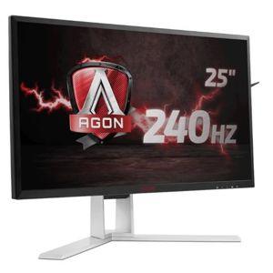 """AOC LCD AGON herní AG251FG 24,5"""" G-Sync/1920x1080@240Hz/1ms/50m:1/2xHDMI/4xUSB/DP/repro/vesa"""