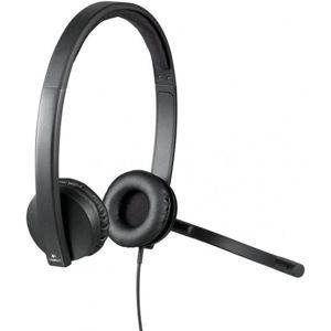 Logitech® USB Headset H570e Stereo - USB - EMEA - STEREO WITH LEATHERETTE PAD
