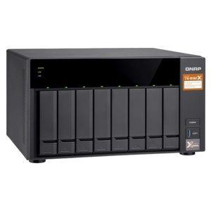 QNAP TS-832X-2G Turbo NAS server, 1,7 GHz QC/2GB/8xHDD/2xGL+2x10GL/USB 3.0/R0,1,5,6/iSCSI