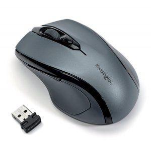 Kensington Bezdrátová počítačová myš střední velikosti Kensington Pro Fit™®, šedá