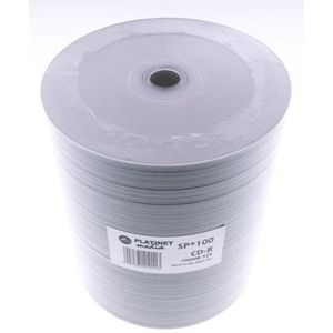 PLATINET CD-R 700MB 52X WHITE FF INK. PRINTABLE PRO SP*100 [41011]