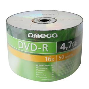 OMEGA DVD-R 4,7GB 16X SP*50 [40933]