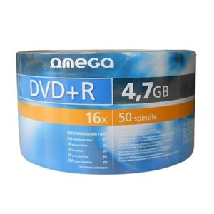 OMEGA DVD+R 4,7GB 16X SP*50 [40934]