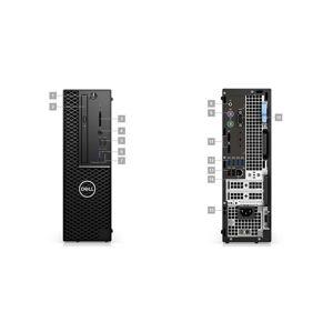 DELL Precision T3431/i7-9700/16GB/512GB SSD/2GB P620/DVDRW/klávesnice+myš/Win 10 Pro