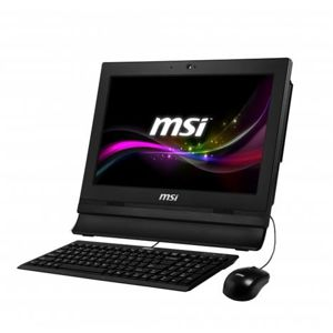 "MSI Pro 16T 10M-001XEU /Celeron 5205U Comet lake/4GB/Black/15,6"" eDP HD ST/UHD Graphics/256GB SSD/Hdd Caddy/noOS"