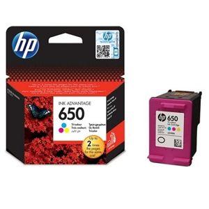 HP 650, atramentová náplň pre HP Deskjet ink Advantage 1515, 2515, 3515, 4515, 200 strán, Tri-color