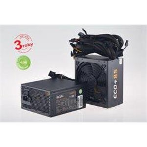 Zdroj Eurocase 700W, ECO+85 ATX-700WA-14-85, APFC, CE, CB, ErP2013, efficiency 85+