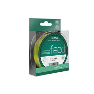 Delphin Method FEED žltá 5000m 0,12mm 2,9lbs