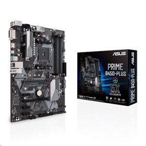ASUS PRIME B450-PLUS soc.AM4 B450 DDR4 ATX PCIe M.2 D-Sub DVI HDMI