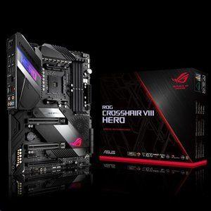 ASUS ROG CROSSHAIR VIII HERO soc.AM4 X570 DDR4 ATX M.2 RAID